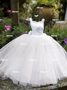 Miniatura de Vestido de Noiva  www.manart.tanlup...