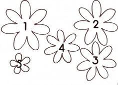 Patterns For Felt Flower