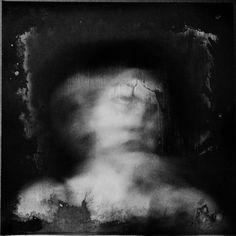 Slow Panic by Hanan Kazma : self portrait - long exposure photography Lebanese Photographer