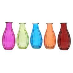 Vaso de Vidro Colorido (pç)