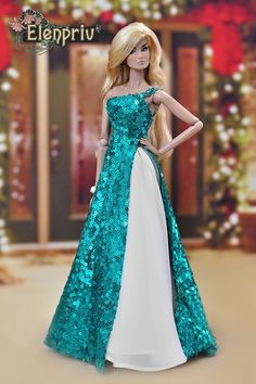 Наряды для Барби/Barbie Fashion Sewing Barbie Clothes, Barbie Clothes Patterns, Dress Patterns, Doll Clothes, Doily Patterns, Barbie Wedding Dress, Barbie Gowns, Barbie Dress, Barbie Doll