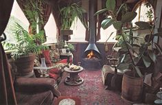 Houseboat Interior / The Green Life <3