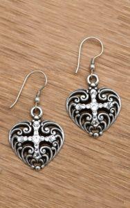 M&F Western Products® Filigree Heart Earrings | Cavender's