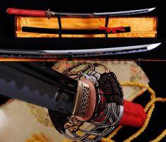 HIGH QUALITY 1095 CARBON STEEL JAPANESE SAMURAI MARU SWORD KATANA