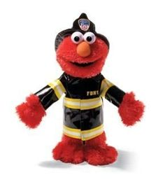 Elmo, 14 in. Fire Fighter, FDNY from Sesame Street® by Gund®