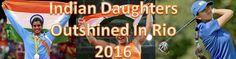 Sakshi Malik, PV Sindhu, Aditi Ashok- Indian Daughters Who Outshined In Rio 2016     #IndianWomen #SakshiMalik #PVSindhu #AditiAshok #IndianDaughters #Rio2016 #Olympic
