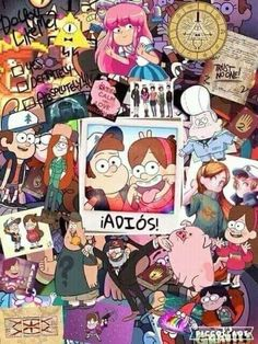 Find images and videos about bye, gravity falls and mabel on We Heart It - the app to get lost in what you love. Gravity Falls Dipper, Gravity Falls Poster, Gravity Falls Art, Gravity Falls Secrets, Cartoon Wallpaper, Cute Disney Wallpaper, Monster Falls, Fall Tumblr, Kalender Design