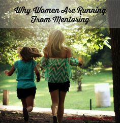 Why Women Are Running From Mentoring - Women's Ministry Toolbox - Taking a look at why women aren't embracing mentoring. Titus 2 Woman, Christian Women's Ministry, Womens Ministry Events, Young Adult Ministry, Church Ministry, Ministry Ideas, Encouragement For Today, Mentor Program, Bible Lessons
