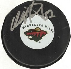 Niklas Backstrom Signed Hockey Puck #SportsMemorabilia #MinnesotaWild
