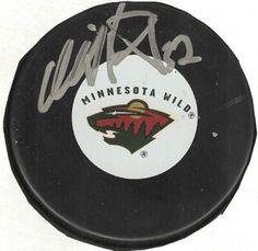 Niklas Backstrom Signed Hockey Puck #SportsMemorabilia #MinnesotaWild