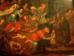 'Ritual Murder' Painting Of Jews Killing Christians 'Mord Rytualny' By Charles de Prevot To Be Displayed At Polish Cathedral Blood Libel, Christian Kids, Jewish History, Freemason, Christianity, Medieval, Images, Painting, Art