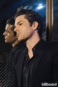 The Killers' Brandon Flowers: Photos from the Billboard Shoot Beautiful Boys, Gorgeous Men, Guys With Black Hair, The Killers, Brandon Flowers, Classic Songs, Happy Flowers, Music Love, My Chemical Romance
