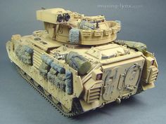 M2A2 in Operation Desert Storm 1/35 Scale Model