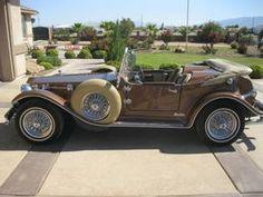 Lincoln Mini Mark Roadster Kit Car -- 1929 Lincoln Roadster Replica