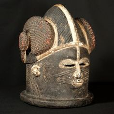 Igala Helmet Mask : Collected by Jean Pierre Hallet