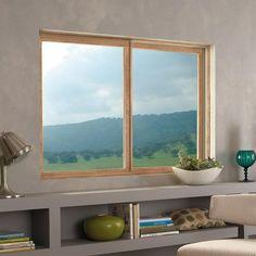 Fenêtre coulissante / en bois / fibre de verre / à double vitrage WOOD-ULTREX INTEGRITY