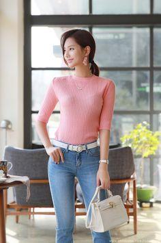 f8bb8441ae97 Korean Girl, Korean Women, Chinese Model, Sexy Asian Girls, Korean Fashion,