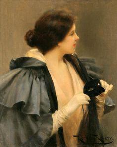 жанровая живопись Roman Ribera Cirera (Spanish, 1849-1935) | Клуб интеллектуалов