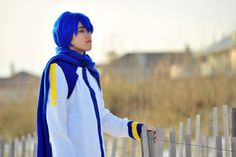 Kaito from Vocaloid Cosplay