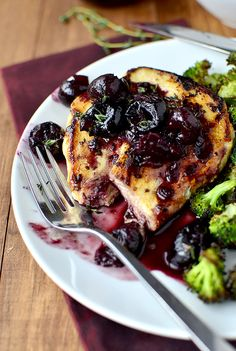 Chicken with Cherry-