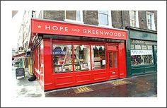 Hope & Greenwood   Sweet Shop, 1 Russell.  (LW7-3)