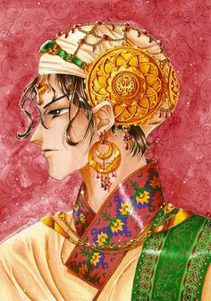Assam, the tea prince by ~gribouil on deviantART