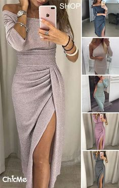 Best Party Dresses dress neck designs latest evening dresses party wear gown with price Fashion Night, Look Fashion, Bling Dress, Dress Neck Designs, Party Dresses For Women, Night Outfits, Outfit Night, Classy Dress, Casual Chic