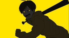 Osomatsu-san- Jyushimatsu #Anime「♡」Dark Neon