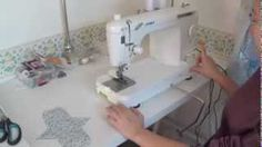 How to make a cloth pad with a sewing machine pt. 1