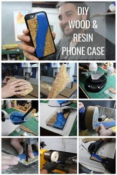 Resin and Wood Phone Case: 7 Steps (with Pictures) Woodworking Projects Diy, Woodworking Wood, Diy Phone Case, Phone Cases, Home Crafts, Diy Crafts, How To Make Resin, Making Resin Jewellery, Make A Case