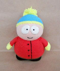 Eric Cartman amigurumi pattern
