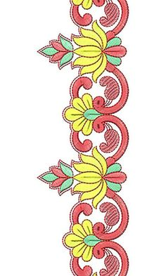 So Pretty Lotus Lace Embroidery Design
