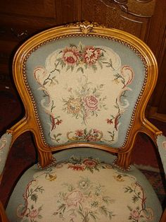 French Antique Armchair Antique Chair French Antique Furniture from mrbeasleys on Ruby Lane