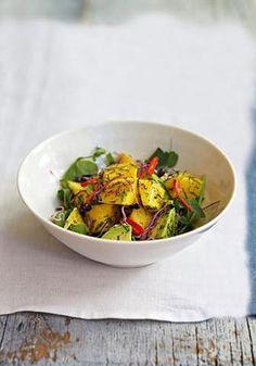 Avocado, Mango & Dill Salad – Honestly Healthy Food