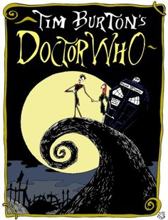 Doctor Who Tim Burton Style