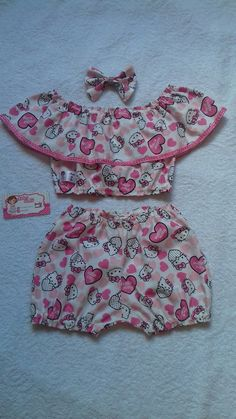 Baby Dress Pattern Free, Baby Dress Patterns, Baby Clothes Patterns, Kids Summer Dresses, Dresses Kids Girl, Kids Outfits, Boys Sewing Patterns, Diy Barbie Clothes, Handmade Baby Clothes