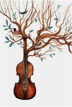Violin dibujos Gluten Free Recipes gluten free 21 day fix recipes Arte Cello, Cello Kunst, Cello Art, Violin Music, Violin Drawing, Violin Painting, Violin Tattoo, Music Drawings, Music Artwork