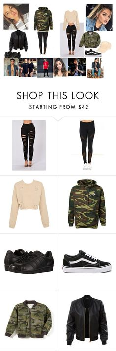 """Asylum- team 10"" by sophiehaggarty on Polyvore featuring Dance & Marvel, Paul Green, adidas Originals, Vans, LE3NO and Brooks"