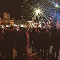 Manifestation #jesuischarlie Place de Jaude à #Clermontferrand