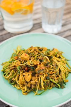 Bami Goreng van Kumar's Low Carb Recipes, Vegetarian Recipes, Healthy Recipes, Healthy Cooking, Healthy Eating, Healthy Diners, Spiralizer Recipes, Go For It, Happy Foods