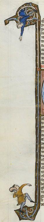 end of the 13th century France      Lausanne, Bibliothèque Cantonale et Universitaire  U 964 - Biblia Porta  fol. 248v    http://www.e-codices.unifr.ch/en/list/one/bcul/U0964