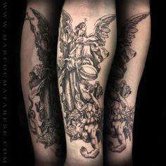 Sculpture tattoo etching black Marco C. Matarese