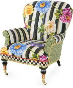 MacKenzie-child's Cutting Garden Accent Chair
