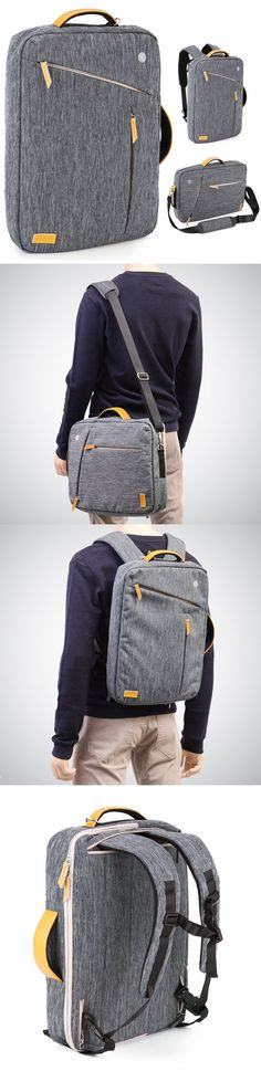 Convertible Laptop Canvas Briefcase Backpack Ebags BackPack Tumblr | leather backpack tumblr | cute backpacks tumblr http://ebagsbackpack.tumblr.com/ #Laptops