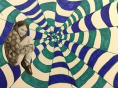 My 4th grade worked on optical illusions.  I love teaching this 'magic' to kids.  They love the final outcome of the illusions we...