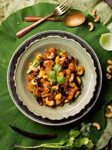 ไก่ผัดเม็ดม่วงหิมะพาน (Stir-fried Chicken with cashew nuts)   รับถ่ายภาพอาหาร_food photgraphy_ททท อาหารไทย14