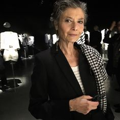 How can Renata Molho keep getting more beautiful every year? @armani #Atribute #TheSartorialistItaly