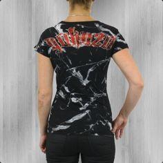 Yakuza Frauen T-Shirt Lines Of Hell schwarz