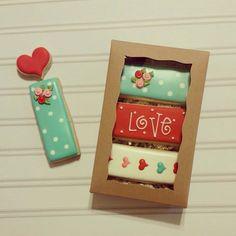 Valentine's Day Cookie Sticks | Curlicue Bakery