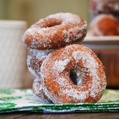 Dunkin Donuts Copycat Pumpkin Donuts